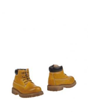 Полусапоги и высокие ботинки DOCKSTEPS. Цвет: охра