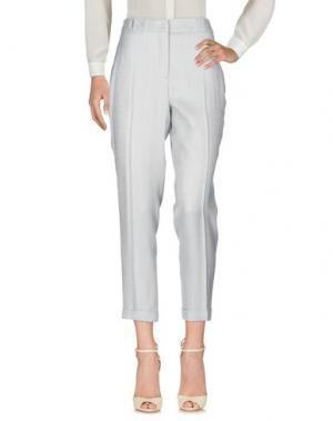 Повседневные брюки NATAN. Цвет: светло-серый