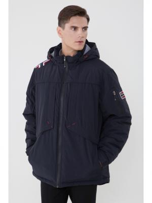 Куртка FERGO. Цвет: синий