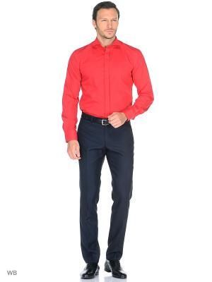 Рубашка Fayzoff-SA. Цвет: красный