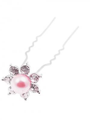 Заколка-шпилька для волос 20 шт (длина 6см.) City Flash. Цвет: серебристый, белый, розовый