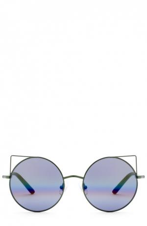 Солнцезащитные очки Matthew Williamson. Цвет: зеленый