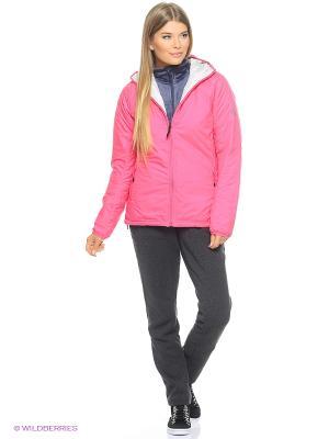 Куртка W Alploft J Adidas. Цвет: красный