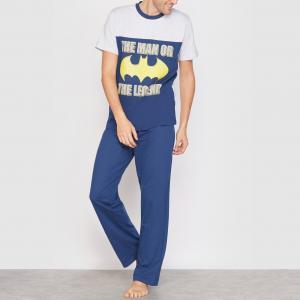 Пижама BATMAN. Цвет: темно-синий/серый меланж