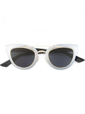 Солнцезащитные очки Chromic Dior Eyewear. Цвет: металлический