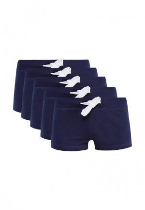 Комплект шорт домашних 5 шт. oodji. Цвет: синий