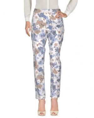 Повседневные брюки CLUB VOLTAIRE. Цвет: грифельно-синий