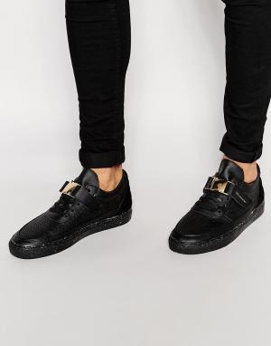 Cayler & Sons Низкие кроссовки Chutoro. Цвет: черный