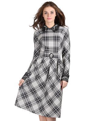 Платье OLIVEGREY. Цвет: серый, черный