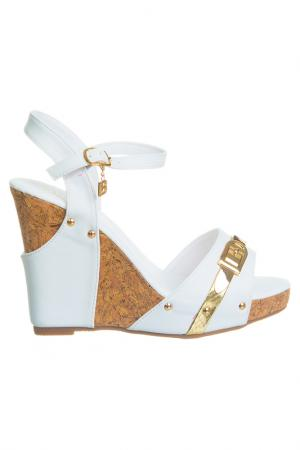 High heels sandals Laura Biagiotti. Цвет: white