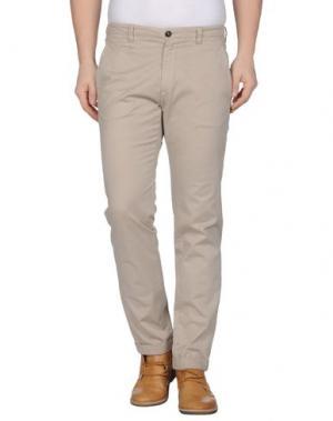 Повседневные брюки GAZZARRINI. Цвет: бежевый