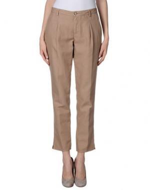 Повседневные брюки GOOD MOOD. Цвет: песочный