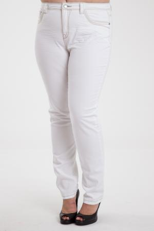 Trousers Open End. Цвет: white