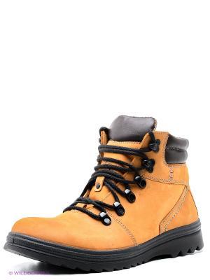 Ботинки Marko. Цвет: желтый