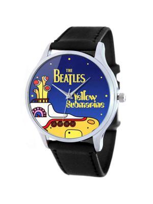 Дизайнерские часы Yellow Submarine Tina Bolotina. Цвет: черный, желтый, синий