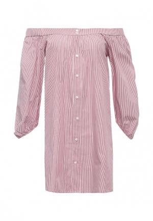 Блуза Aurora Firenze. Цвет: красный