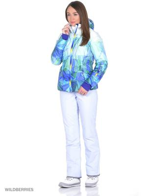 Куртка Stayer. Цвет: белый, синий, зеленый, голубой