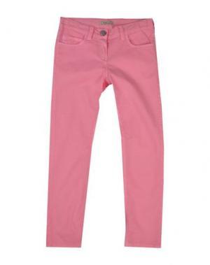 Повседневные брюки MIMISOL. Цвет: светло-фиолетовый