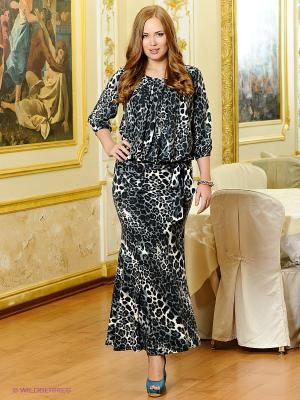 Платье МадаМ Т. Цвет: серый