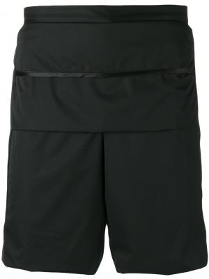 Спортивные шорты Cottweiler. Цвет: чёрный