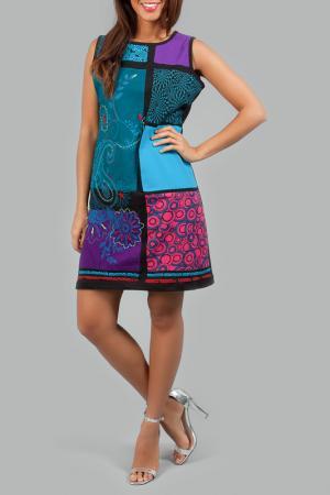 Платье ANABELLE. Цвет: мультицвет