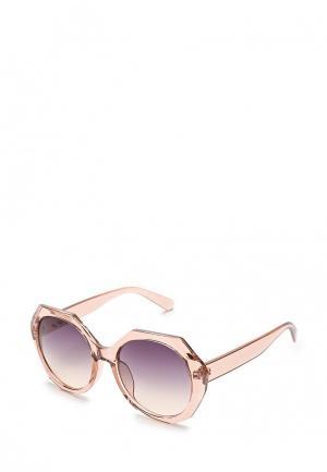 Очки солнцезащитные Mascotte. Цвет: розовый