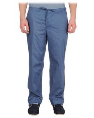 Повседневные брюки BAND OF OUTSIDERS. Цвет: пастельно-синий