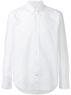Классическая однотонная рубашка Études. Цвет: белый