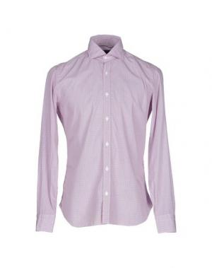 Pубашка BARBA NAPOLI. Цвет: красный
