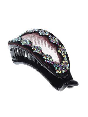 Заколка-банан Infiniti. Цвет: черный, розовый