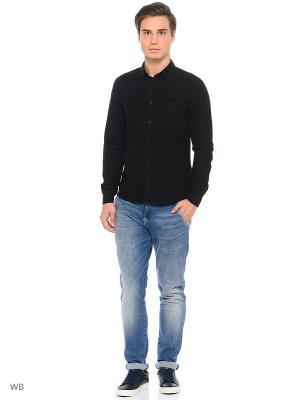 Рубашка Calvin Klein. Цвет: черный