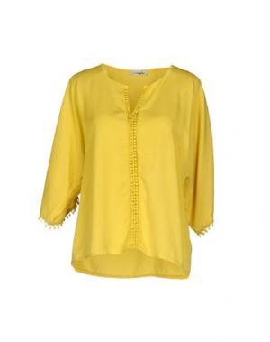 Блузка MAGILLA. Цвет: желтый