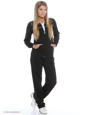 Костюм спортивный  ESS Poly Suit op Puma. Цвет: черный