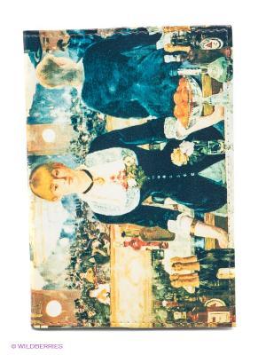 Обложка для автодокументов Э. Мане Бар в Фоли-Бержер Mitya Veselkov. Цвет: синий