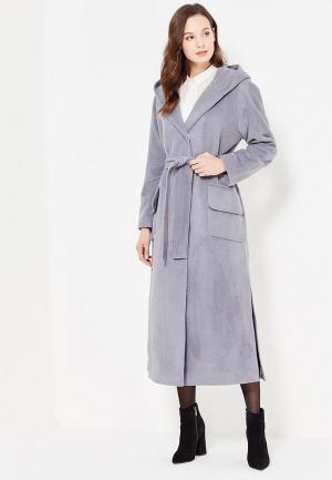 Пальто Demurya Collection. Цвет: серый