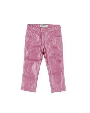 Повседневные брюки SIMONETTA MINI. Цвет: розовый