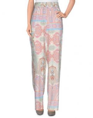 Повседневные брюки THELMA & LOUISE. Цвет: розовый