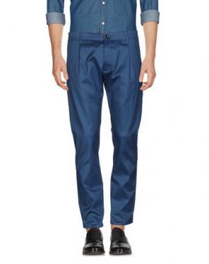 Повседневные брюки NINE:INTHE:MORNING. Цвет: цвет морской волны