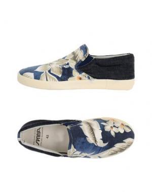 Низкие кеды и кроссовки SPRINGA. Цвет: темно-синий