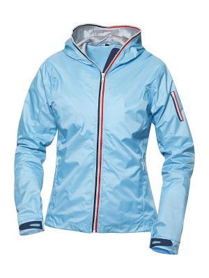 Куртка Сибрук женская Clique. Цвет: голубой