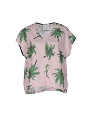 Блузка MARIUCCIA. Цвет: розовый