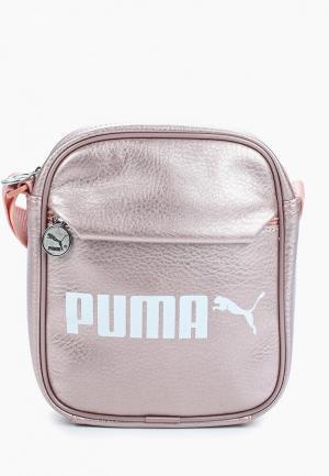 Сумка PUMA. Цвет: розовый