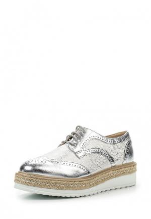 Ботинки La Bottine Souriante. Цвет: серебряный