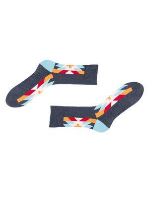 Носки Sammy Icon. Цвет: серый, голубой, красный, оранжевый
