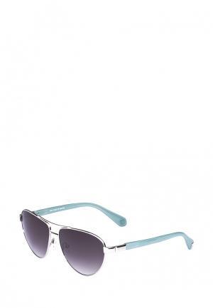 Очки солнцезащитные Enni Marco. Цвет: голубой