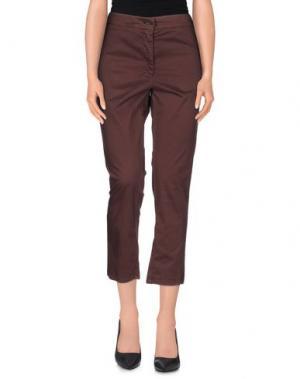 Повседневные брюки ANNARITA N.. Цвет: баклажанный