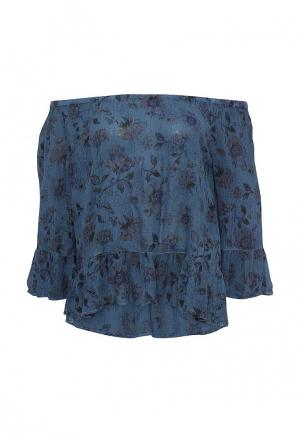 Блуза BlendShe. Цвет: синий