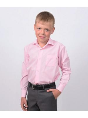 Рубашка  для мальчика HERDAL. Цвет: розовый