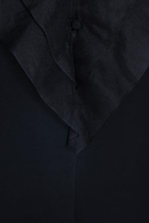 Однотонное платье Guy Laroche. Цвет: черный