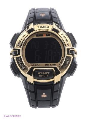 Часы TIMEX. Цвет: золотистый, черный